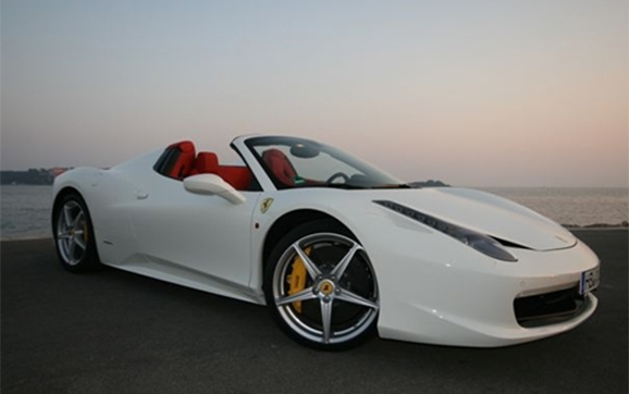 location ferrari 458 italia spider