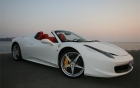 Ferrari 458 Italia Spider-vue-profile-voiture-luxe-360 luxury services