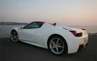 Ferrari 458 Italia Spider-vue-arriere-voiture-luxe-360 luxury services