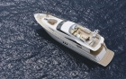 L'ECUREUIL, FAIRLINE SQUADRON - Aerial view - rental on 360° luxury services