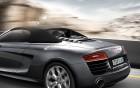R8 Spyder - rear - view - luxury car rentals | 360° luxury services