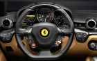 Ferrari F12 Berlinetta - interior view of luxury car on 360° luxury services