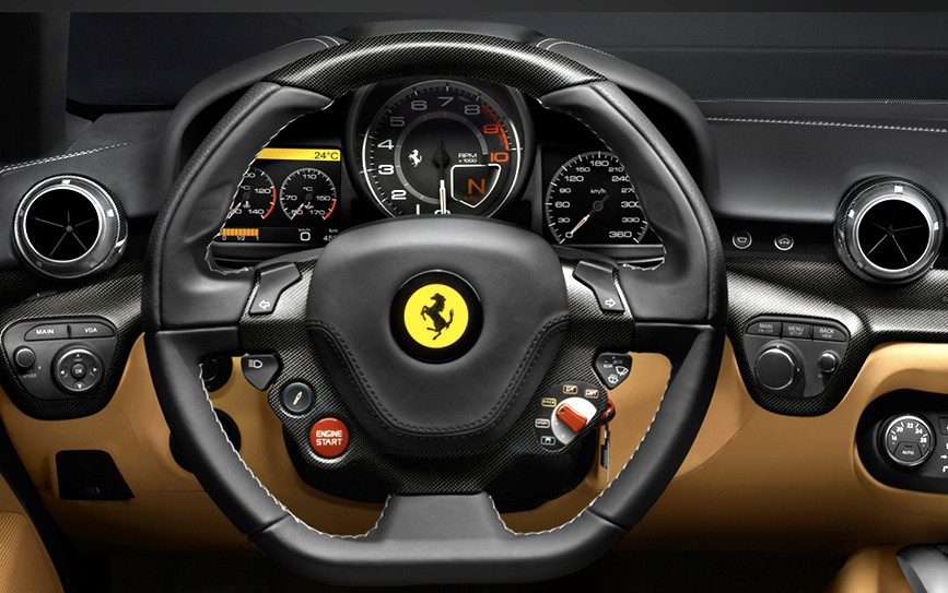 Location ferrari f12 berlinetta 360 luxury services for Interieur de voiture de luxe