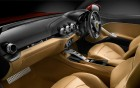 Ferrari F12 Berlinetta - interior finition of the luxury car on 360° luxury services