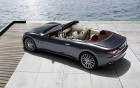 Maserati GranCabrio - rear profil of the luxury car on 360° luxury services