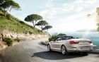 BMW serie 6 cabriolet - rear view - luxury car - 360° luxury services