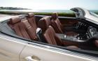 BMW série 6 cabriolet - finition intérieure, voiture de luxe à louer, 360° luxury services