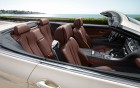 BMW serie 6 cabriolet - detail finition of the luxury car on 360° luxury services