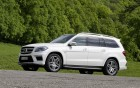 Mercedes-Benz GL 63 AMG - front profil of the luxury car: 360 luxury services