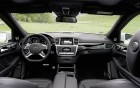 Mercedes-Benz GL 63 AMG - interior and wheel of the luxury car: 360° luxury services