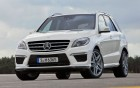 Mercedes-Benz ML 63 AMG - front- luxury car: 360 luxury services