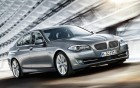 BMW 5 serie - front side view - luxury car with driver - 360° luxury services