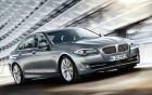 BMW série 5 - vue côté avant - voiture de luxe avec chauffeur sur 360° luxury services