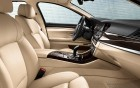 BMW 5 serie - detail finition of the luxury car with driver