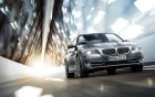 BMW 5 serie - front - luxury car with driver - 360° luxury services