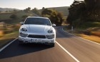 Porsche Cayenne - front view - luxury car with driver - 360° luxury services