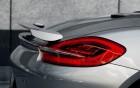 Porsche Boxter - rear fin - luxury car