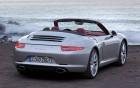 Porsche Carrera 911 Cabriolet - arrière de la voiture de luxe