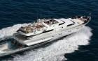 ANTISAN, ALALUNGA - vue aérienne du yacht
