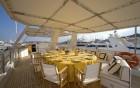 ANTISAN, ALALUNGA - vue du bain de soleil du yacht