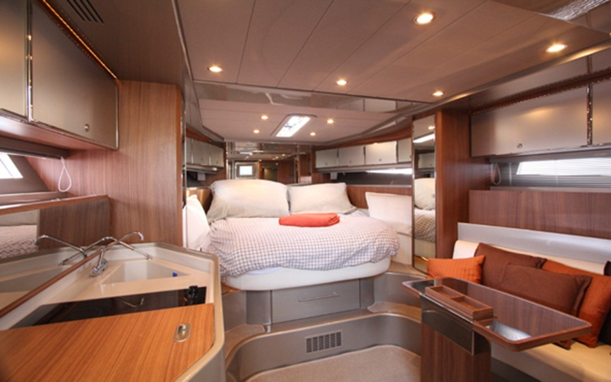 rivarama 44 yacht bateau open de 14 m 1 cabine. Black Bedroom Furniture Sets. Home Design Ideas
