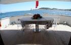 ACCAMA, Azimut - Deck du yacht
