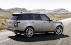 Range Rover Vogue with driver, side view