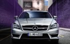 mercedes benz cls 350, vue de face