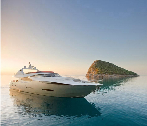 La location de YACHT sur 360° Luxury Services