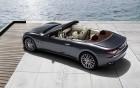 Maserati GranCabrio - rear profil of the luxury car on 360° luxury services