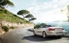 BMW série 6 cabriolet, vue arrière de la voiture de prestige sur 360° luxury services