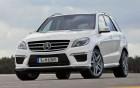 Mercedes-Benz ML 63 AMG - avant - voiture de luxe à louer: 360° luxury services