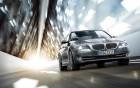 BMW série 5 - vue avant - voiture de luxe avec chauffeur