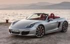 Porsche Boxter - avant de la voiture de luxe
