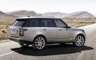 Land Rover Range Rover Vogue avec chauffeur, vue de côté